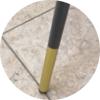 Стул мягкий М-99 черный кожзам Vetro Mebel