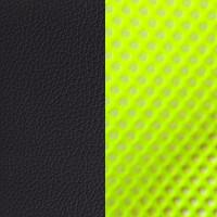 Зеленая сетка/черный кожзам PU